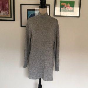 Wilfred free mock turtleneck sweater dress size m